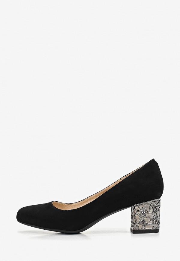 Pierre Cardin | черный Черные туфли Pierre Cardin резина | Clouty