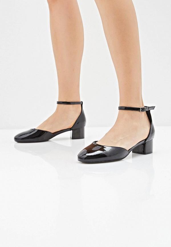 Pierre Cardin   черный Черные туфли Pierre Cardin резина   Clouty