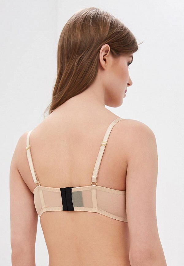 LA DEA lingerie & homewear | бежевый, черный Бюстгальтер LA DEA lingerie & homewear | Clouty
