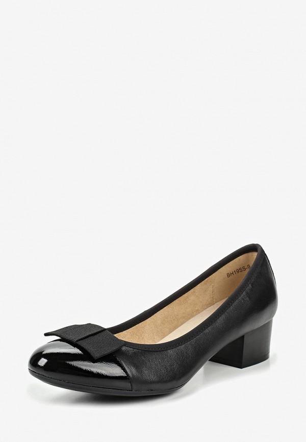 Alessio Nesca | черный Черные туфли Alessio Nesca термоэластопласт | Clouty