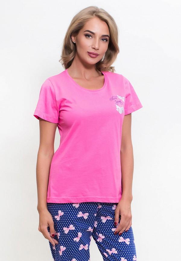 Vienetta | розовый, синий Женский домашний костюм Vienetta | Clouty