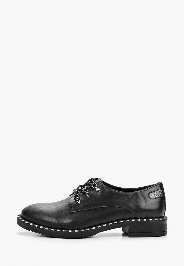 Pierre Cardin | черный Женские черные ботинки Pierre Cardin термоэластопласт | Clouty
