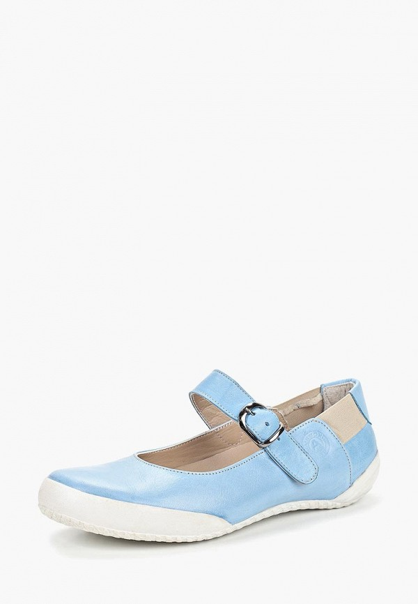 Airbox | голубой Голубые туфли Airbox искусственный материал | Clouty