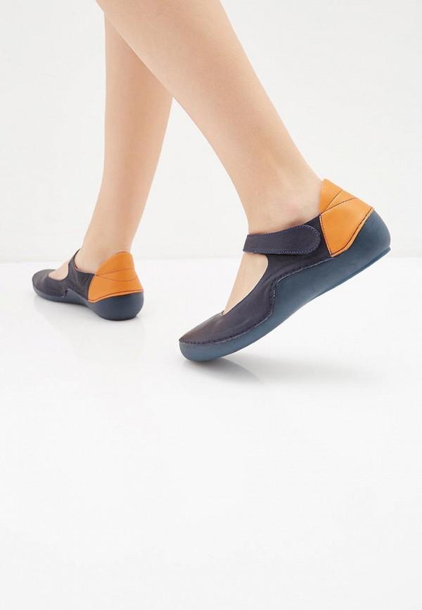 Airbox   синий Синие туфли Airbox искусственный материал   Clouty