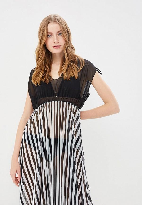 Charmante | черный Летнее черное пляжное платье Charmante | Clouty