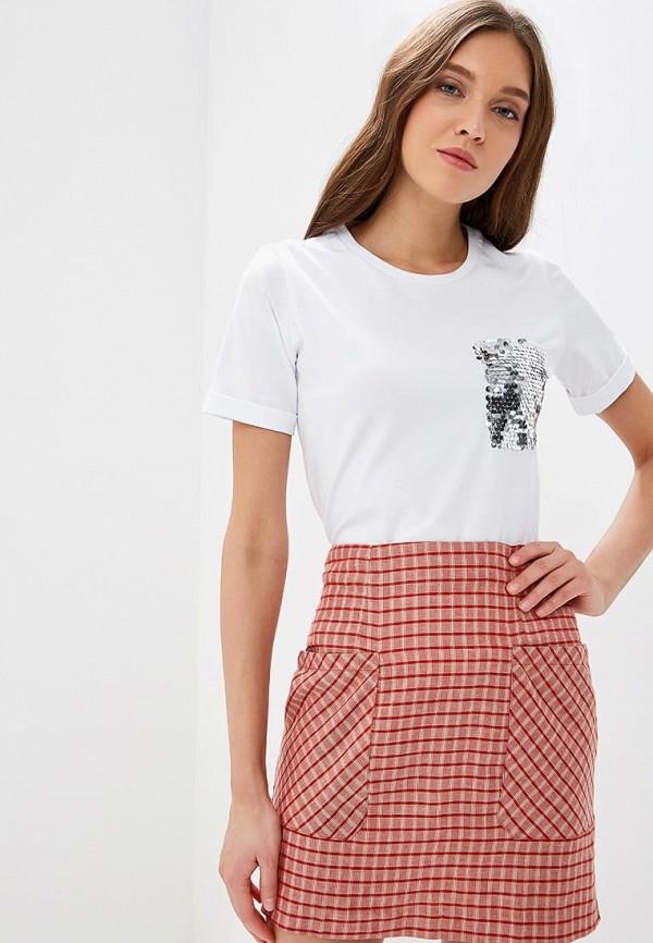 Fashion.Love.Story   белый Женская белая футболка Fashion.Love.Story   Clouty