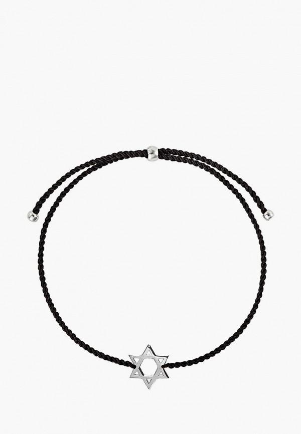 Wanna?Be! | серебряный, черный Женский браслет Wanna?Be! | Clouty