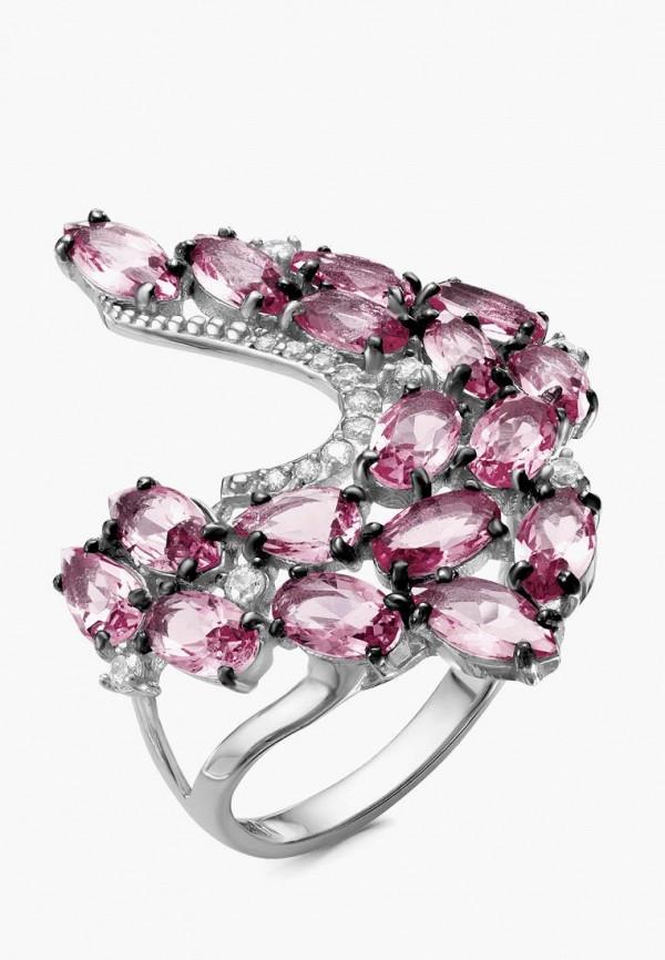 серебро россии | розовый, серебряный Женское кольцо серебро россии | Clouty