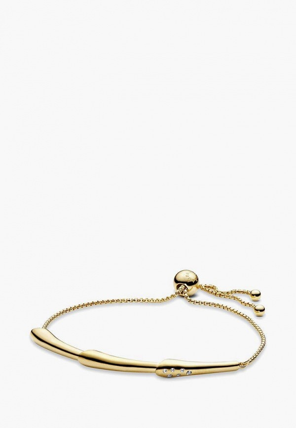 PANDORA | Женский золотой браслет PANDORA | Clouty