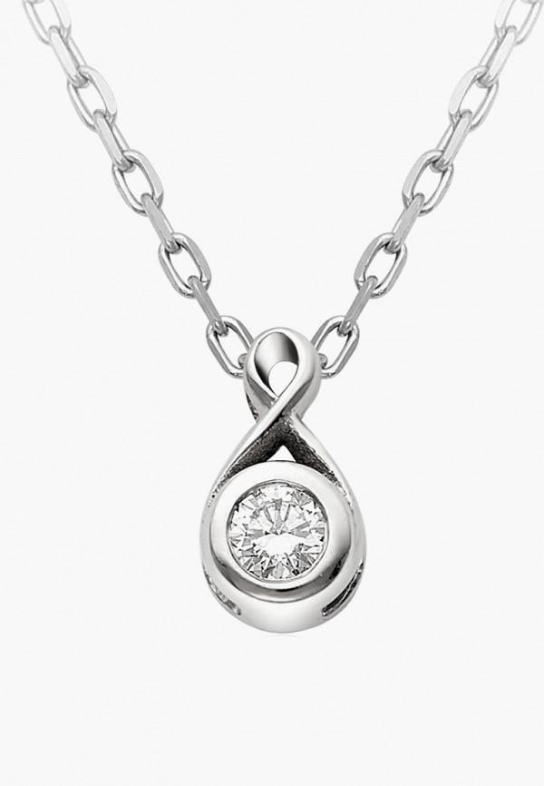 Алькор   серебряный Женское серебряное колье Алькор   Clouty
