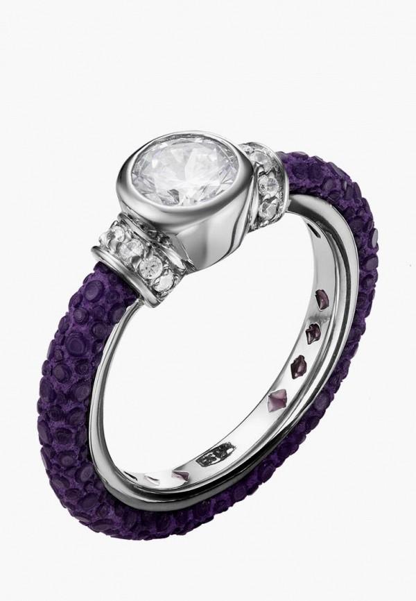 серебро россии | серебряный, фиолетовый Кольцо из серебра 925 пробы | Clouty