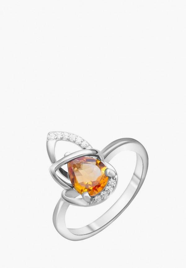 Наше Золото | желтый, серебряный Женское кольцо Наше Золото | Clouty