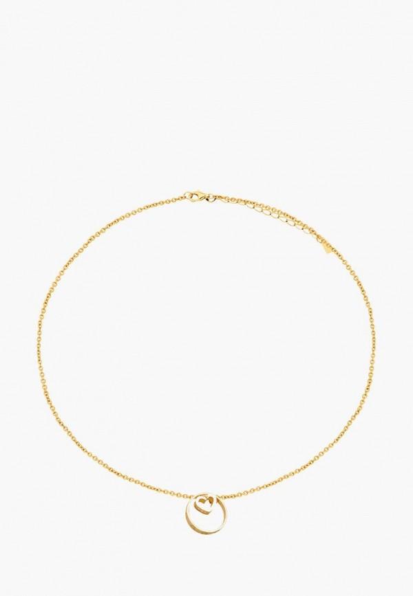 Наше Золото   золотой Женская золотая подвеска Наше Золото   Clouty