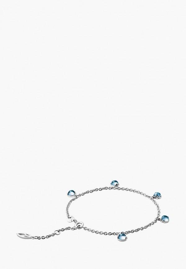 Aleksandr Sinitsyn | голубой, серебряный Женский браслет Aleksandr Sinitsyn | Clouty