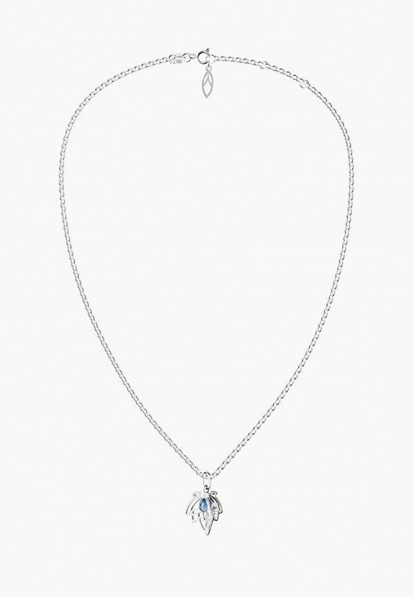 Aleksandr Sinitsyn | голубой, серебряный Женская подвеска Aleksandr Sinitsyn | Clouty