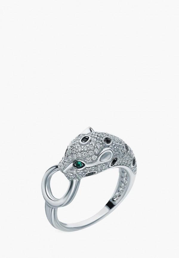 Sunlight | зеленый, серебряный, черный Женское кольцо Sunlight | Clouty
