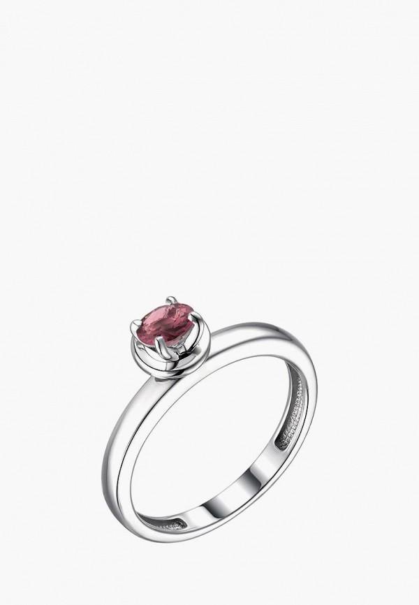 Алькор | розовый, серебряный Женское кольцо Алькор | Clouty