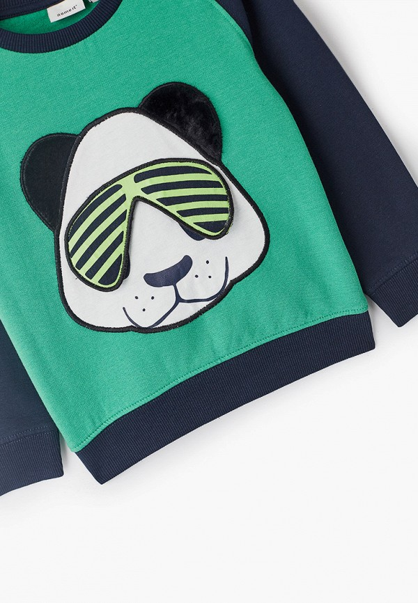 Name It | Зеленый свитшот Name It для мальчиков | Clouty