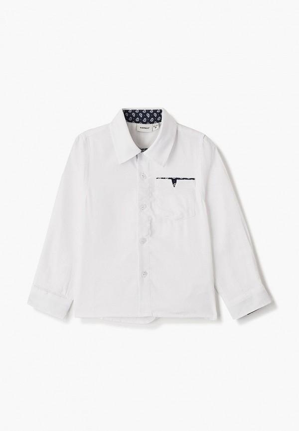 Name It | белый Белая рубашка Name It для мальчиков | Clouty