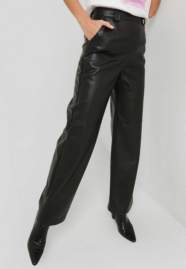 NA-KD | черный Женские черные брюки NA-KD | Clouty
