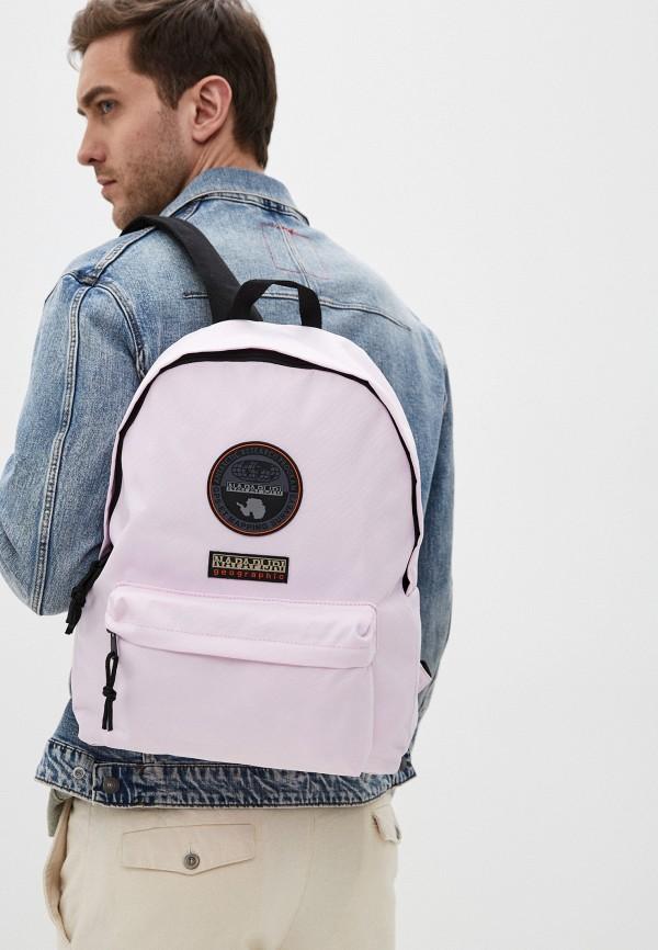 Napapijri | Розовый рюкзак Napapijri | Clouty