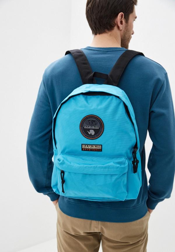 Napapijri | Бирюзовый рюкзак Napapijri | Clouty