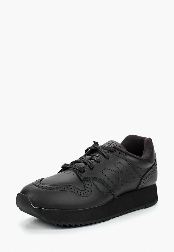 New Balance | черный Женские черные кроссовки New Balance резина | Clouty