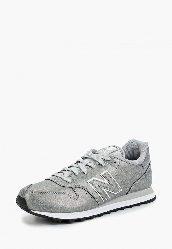 New Balance | серый Женские серые кроссовки New Balance резина | Clouty