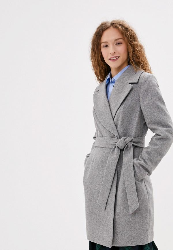 Nerouge | серый Женское серое пальто Nerouge | Clouty