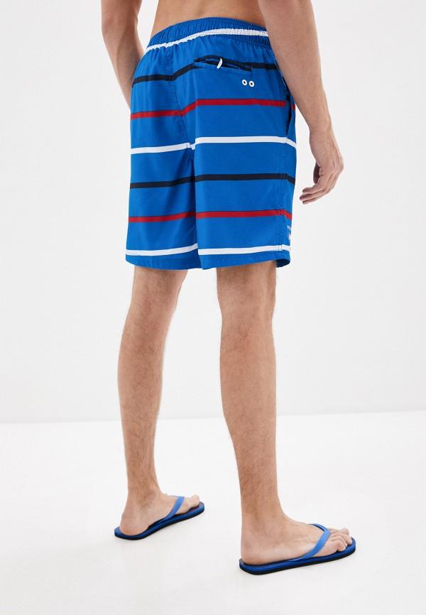 Nisko | синий Мужские летние синие шорты для плавания Nisko | Clouty