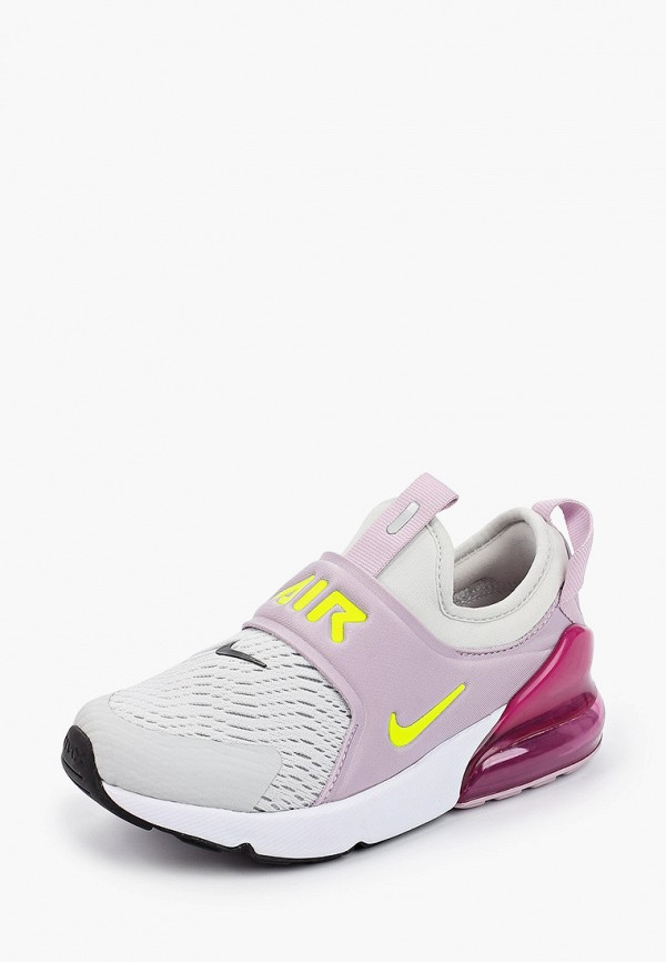NIKE   розовый Розовые кроссовки NIKE резина для девочек   Clouty