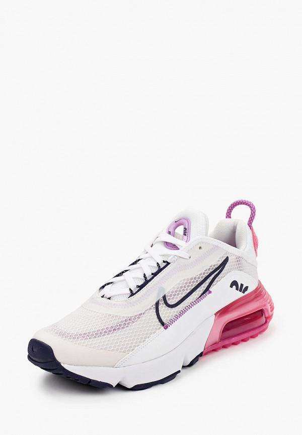 NIKE   белый Белые кроссовки NIKE резина для младенцев   Clouty