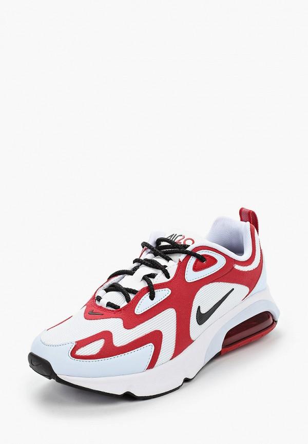 NIKE   красный Женские красные кроссовки NIKE резина   Clouty