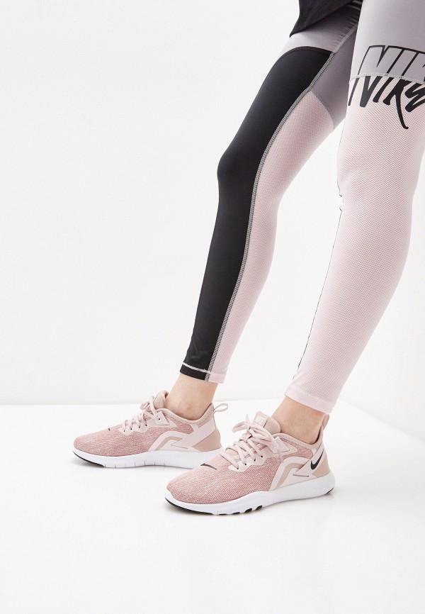 NIKE | бежевый Женские бежевые кроссовки NIKE резина | Clouty