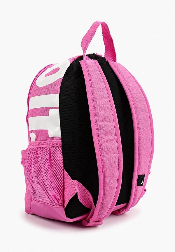 NIKE | Розовый рюкзак NIKE для девочек | Clouty
