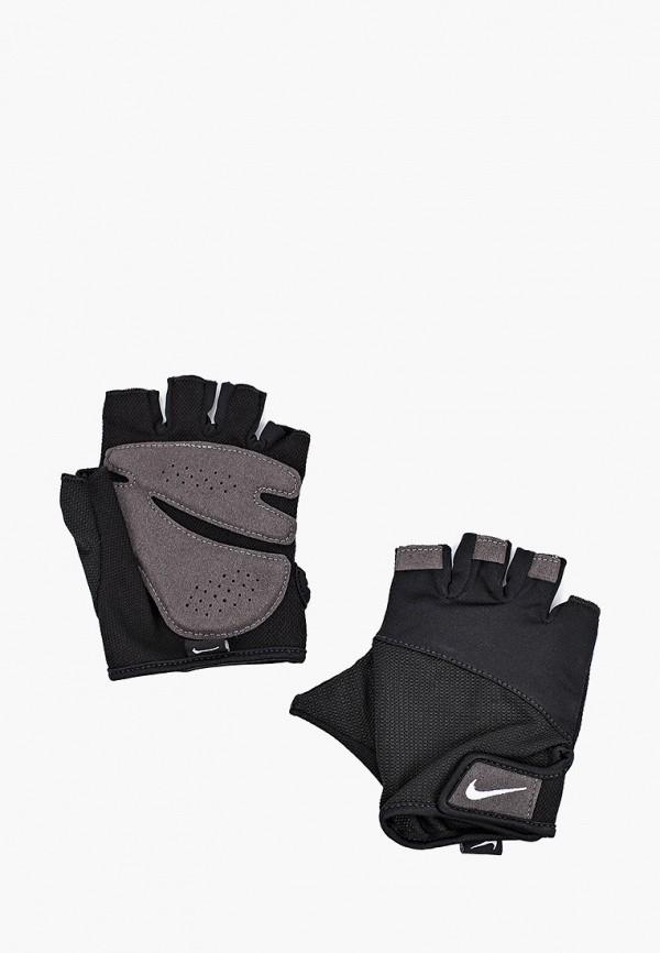 NIKE | черный Женские черные перчатки для фитнеса NIKE | Clouty