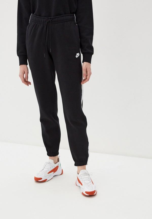NIKE | черный Женские черные спортивные брюки NIKE | Clouty
