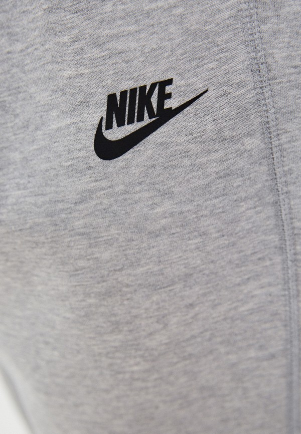 NIKE   серый Брюки спортивные Nike   Clouty