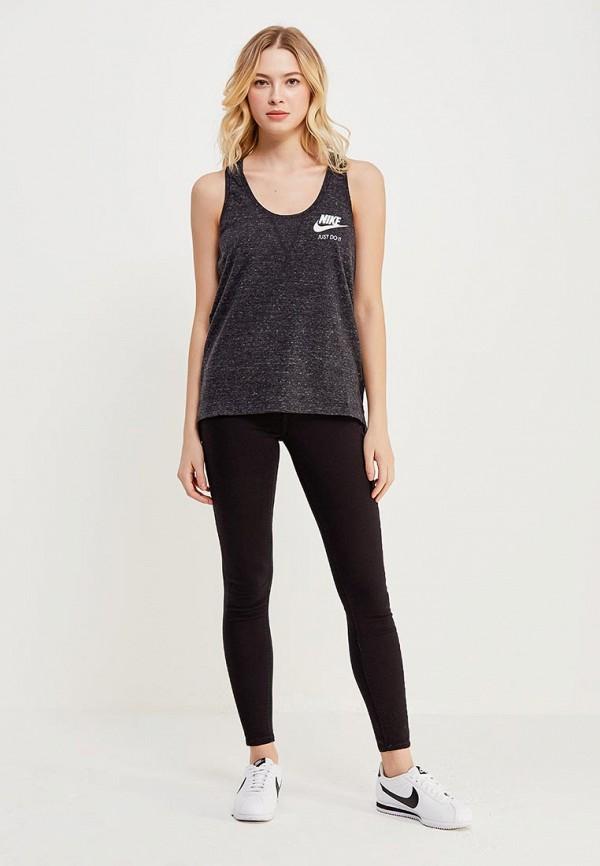 NIKE | серый Майка Nike | Clouty