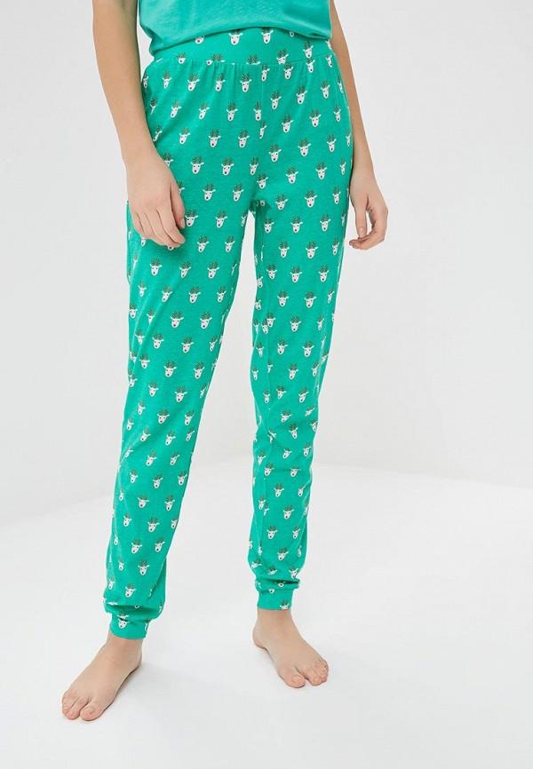 Noisy May | зеленый Женские зеленые домашние брюки Noisy May | Clouty