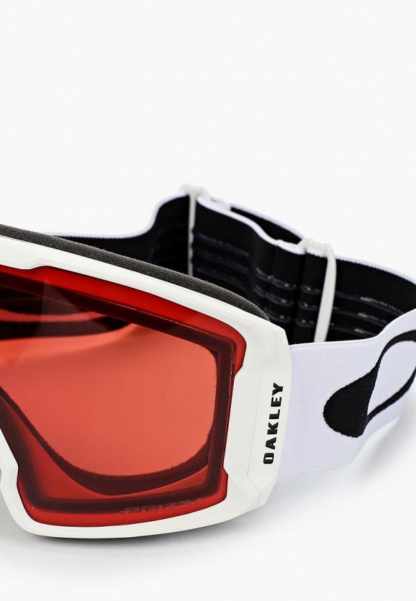 Oakley | белый Белая горнолыжная маска Oakley | Clouty