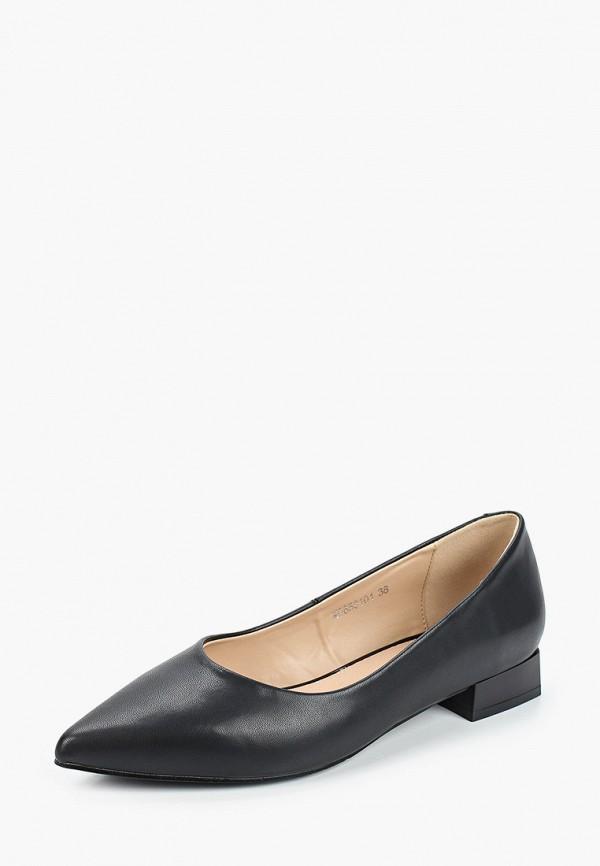 O-live Naturalle | черный Черные туфли O-live Naturalle искусственный материал | Clouty