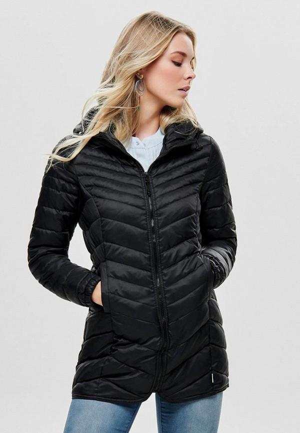 Only | черный Женская черная куртка Only | Clouty