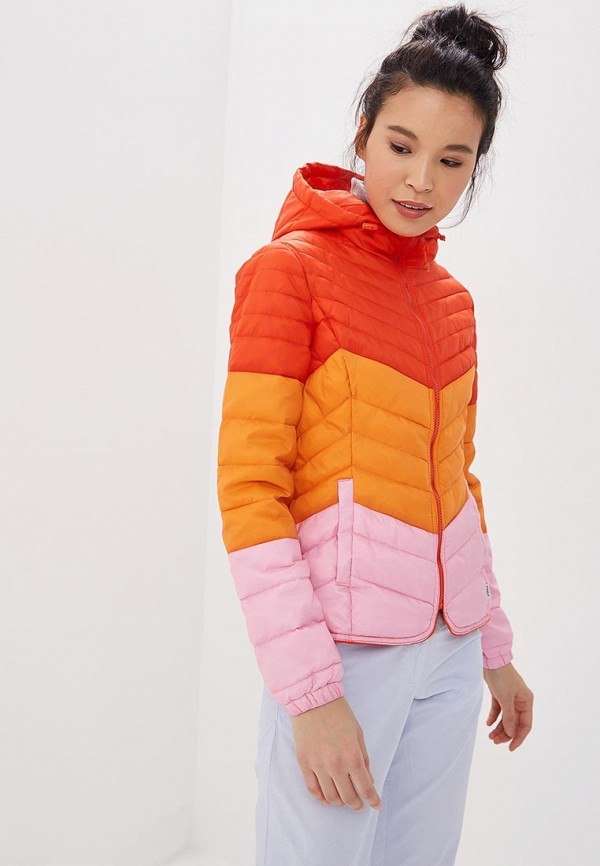 Only | мультиколор Женская утепленная куртка Only | Clouty