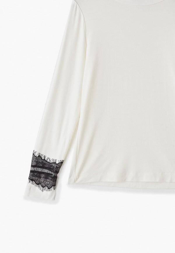 Orby | белый Белая водолазка Orby для девочек | Clouty