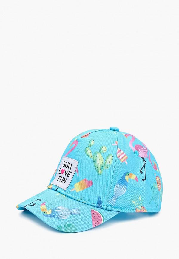O'STIN | голубой Голубая бейсболка O'STIN для девочек | Clouty