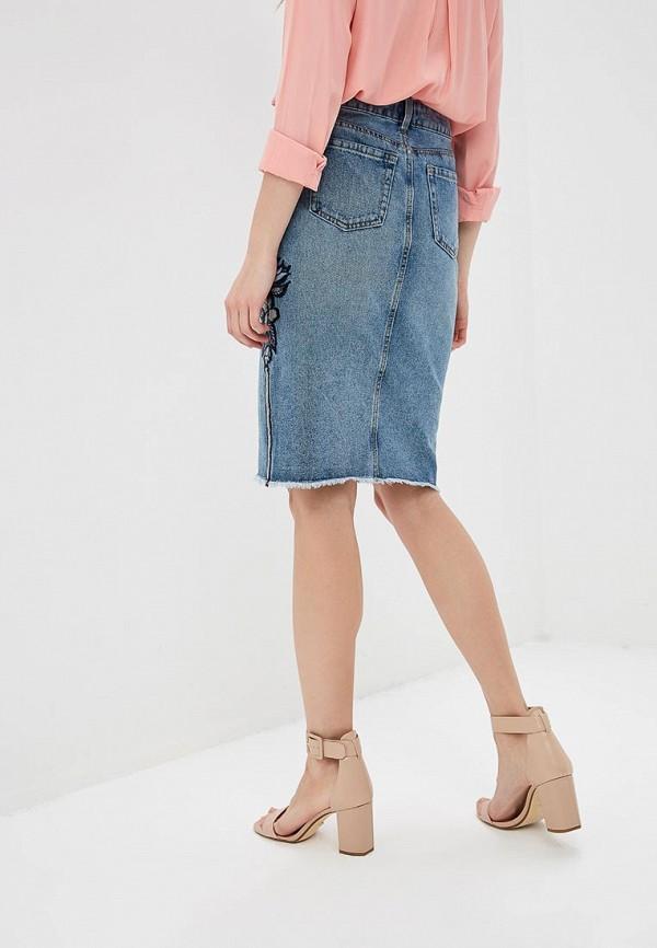 O'STIN   голубой Голубая джинсовая юбка O'STIN   Clouty