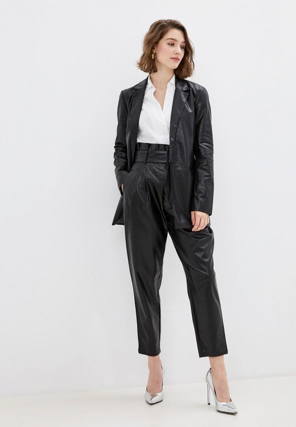 Ovs | черный Женские черные брюки Ovs | Clouty