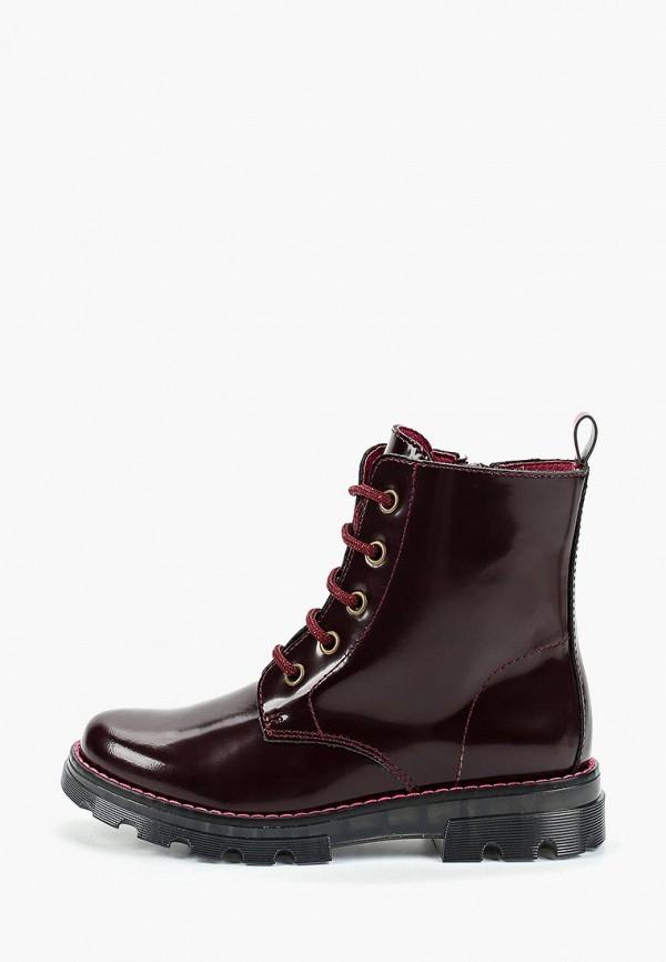 Paola | бордовый Ботинки Paola | Clouty