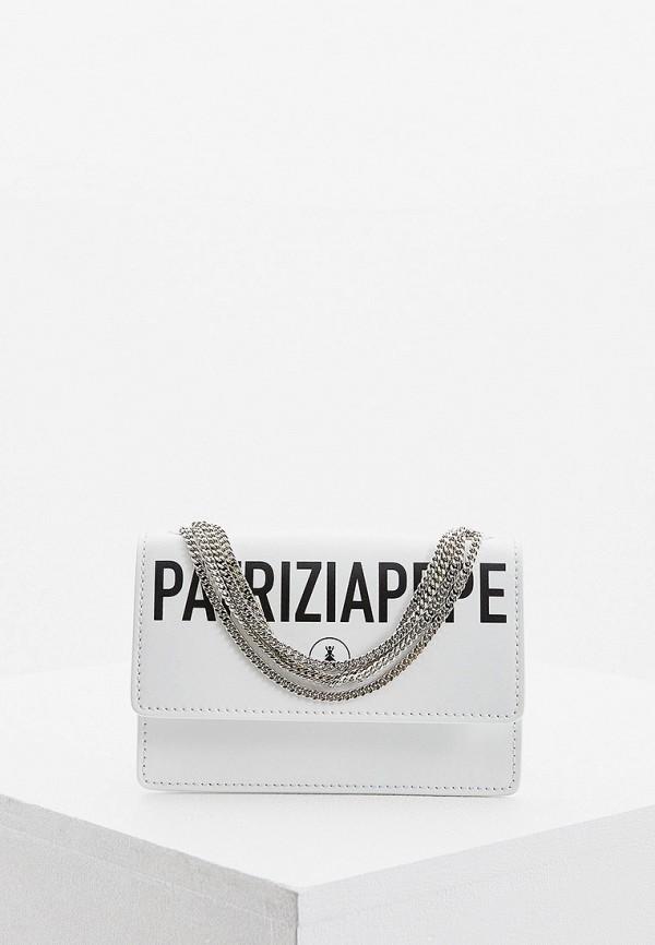 Patrizia Pepe | белый Женская белая поясная сумка Patrizia Pepe | Clouty